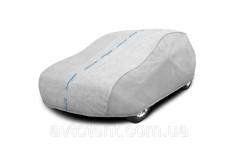Тент-чехол для автомобиля Basic Garage. Размер: L Sedan на Toyota Corolla 2019-