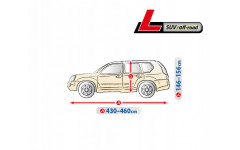 Чехол-тент для автомобиля Optimal Garage. Размер L Suv/Off-road на Toyota C-HR 2016-