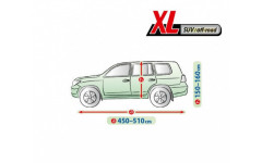 Тент для автомобиля Perfect Garage. Размер XL Suv/Off-road на Toyota Highlander 2014-